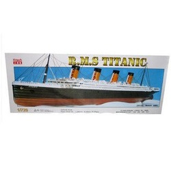 Free Shipping 1:720 Titanic Model Toys,assembly model Boat Model(China (Mainland))
