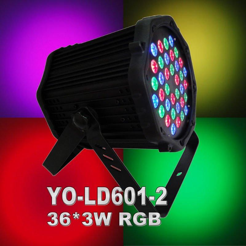 super bright 36*3W R/G/B LED par light,best quality,best price,free shipping(China (Mainland))