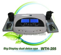 2012  new Dual System Ion Cleanse Detox Foot SPA Machine with Dual System  good for detoxification