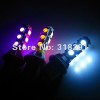 Wholesale 100pcs/lot white T10 194 168 192 W5W 5050 13smd super bright Auto led car lighting/t10 wedge
