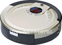 The Newest 3 In Multifunction Auto Robotic Room Cleaner Li-ion Battery M-788 ,Auto Recharged,UV lights,1L Rubblish Box