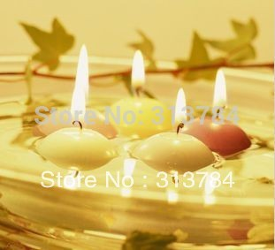 Free Shipping/Floating candles/process candle/adornment candles