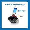 10PCS*9006 HB4 car headlight12V 51W xenon Emark certified,Fast delivery,Quality guarantee