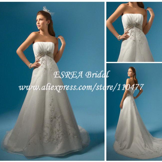 Western White A-line Off shoudler Embroidery Lebanon Wedding Dress MC059(China (Mainland))