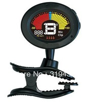 Musical instruments accessories of Clip-on Tuner with RubberPaint / Free Shipping