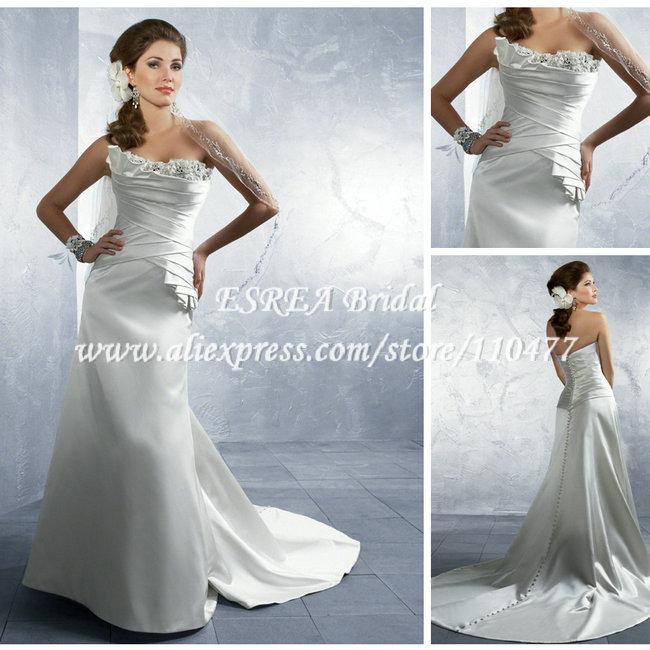 Свадебное платье ESREA line MC081 свадебное платье line