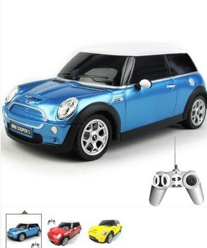 Promotion  Kids Toys 1:24 Scale Remote control car Medium Mini Cooper Rc Cars ...