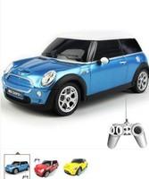 Promotion  New Kids Toys 1:24 Scale  Remote control car Medium  Mini Cooper Rc Cars / Radio Car unique toys