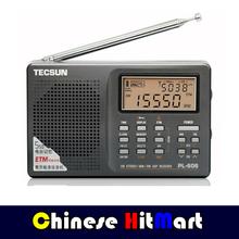 TECSUN PL-606 Black & Silver FM/AM/LW/SW/MW World Band DPS Radio #E09154