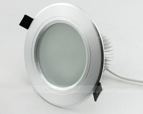 frosted glass antifog bathroom led recessed ceiling down light fixture