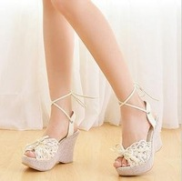Free shipping , 2012hotsales , ladies fashion high-heeled shoes ,women fashion sandals.Wholesale and retail
