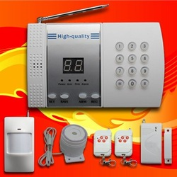 DHL Free Shipping!! Great Discount! 99-Zone Voice home security alarm system Wireless PSTN Burglar 100 pcs/lot(China (Mainland))