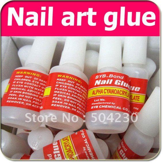 Best Nail Art Glue : Nail glue gel for french art false tips decoration