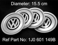 4 PCS VW WHEEL HUB CENTER CAP Volkswagen Logo JETTA BORA GOLF MK4 1999-2004 Replace VW 1J0 601 149B BRAND NEW FREE SHIPPING