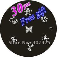 Wholesale - - -30 pcs lot DIY Nail Art Konad Design Stamping Image Plate Design Template + Free Ship+Free gift