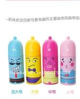 Free shipping, HOT selling! Super cute Mini Condom fan. Retail&Wholesale