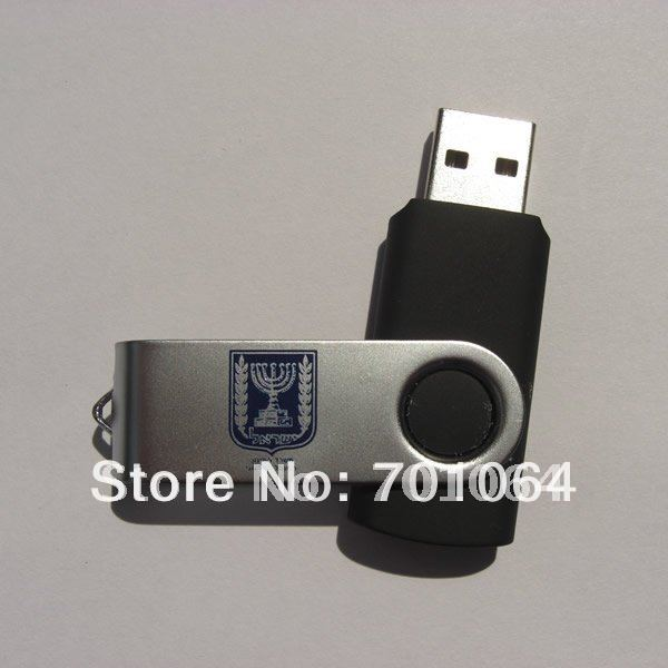 Free shipping: 16GB NO.1 quality & real capacity swivel usb flash driver(Hong Kong)