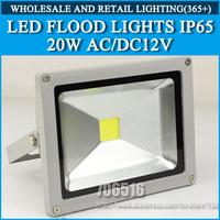5PCS/lot LED Floodlight 20W IP65 AC/DC 12V Cold white/warm white Free shipping/DHL
