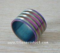 Rainbow Color!!! Titanium Headset Spacer 20mm (6AL/4V Titanium)