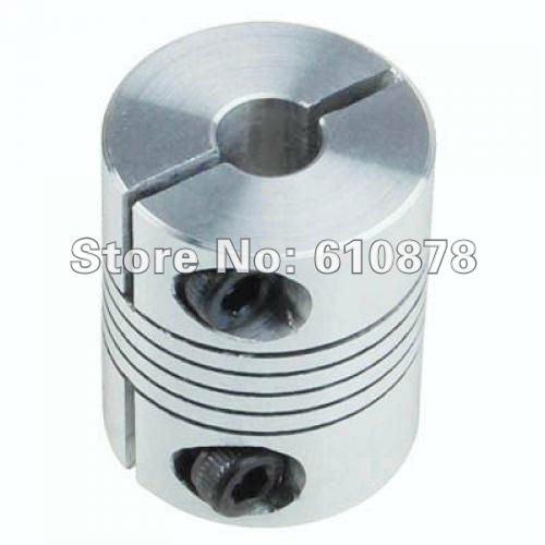 Wholesale price Ship,5pcs/lt,Aluminium Flexible CNC Stepper Motor Shaft Coupler,Inner Diameter: 6*6, Out Diameter:20mm(China (Mainland))