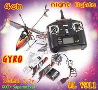 WL V911 4CH 2.4GHz Mini Radio Single Propeller / single blade RC Helicopter Gyro RTF Wholesale