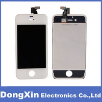 White LCD Conversion Kit Display Digitizer Frame  Full Set  For iPhone 4s