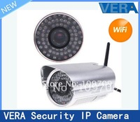 Free Shipping Wireless WiFi IR Cut Night Vision Waterproof Security IP Camera, S111
