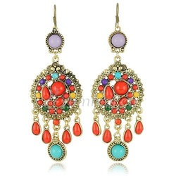 New Arrival Vintage Style Earrings Free Shipping(China (Mainland))