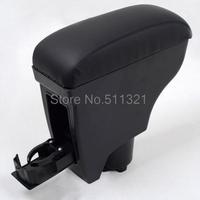 2005-2011 Toyota Belta/Toyota Vitz/Yaris Black Leather Console Armrest