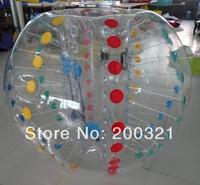 High quality inflatable bumper ball  USD369 for 2pcs 1.2m bumper balls with 1 pump