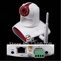 Free Shipping EasyN Wireless WiFi UPnP IP Camera CMOS Security IR Cut CCTV Camera, PT Plug and play, Retail box