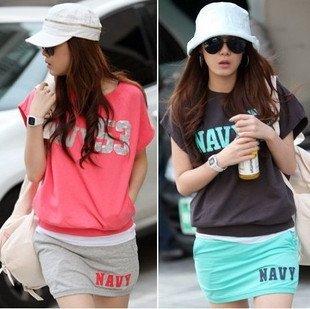 Fashion Sport suits,Women lady hoodies skirt suits ,Leirue sweatshirt.New arrival Model ,Free shipping SU2835(China (Mainland))