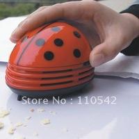Free Shipping, Fun Life Hot Creative Homeware Large Beetles Desktop Mini Vacuum Cleaner