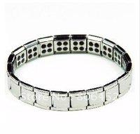 Hot sell! Free shipping&Amazing energy 80 Germanium stone!Titanium bracelet S028B-G
