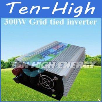 Fedex Freeshipping! 300W Grid Tie Inverter for wind turbine, Pure sine wave Power Inverter