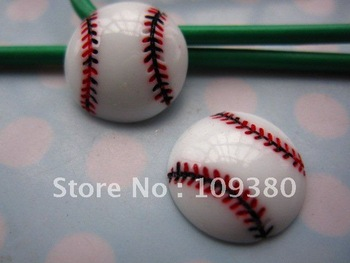 30pcs/lot, Flat back tennis ball