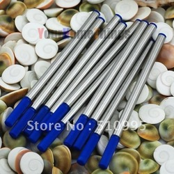 10 Pcs high quality roller ball pen refills blue ink free shipping(China (Mainland))