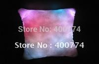 LED pillow Colourful Romantic  Led  RGB Cushion,led lfashing pillow