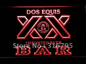 421-r BAR Dos Equis Beer LED Neon Light Sign