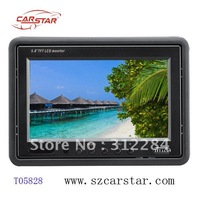 T05828, 5.8 Inch car monitor stand alone monitor with 2 video input
