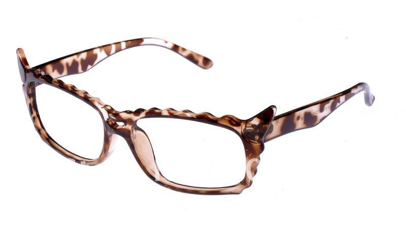 Hot selling! Wholesale Cartoon sheep horn leopard glasses frame+ Free shipping(China (Mainland))