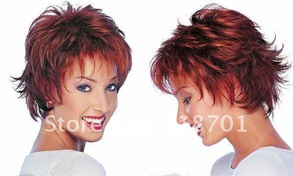 2014-hot-wig-hair-Fashion-hair-Lady-wig-Short-hair-Reddish-brown-High