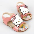 hello kitty sandals kids soft bottom children's sandals kids shoes children's sandals girl's shoes(size:14.5-16.5cm)girls sandal