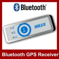 HOLUX M-1200E Bluetooth GPS Receiver GPS Data Logger Travel Recorder USB Mini GPS Receiver Free Shipping