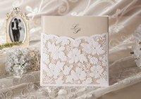 Wedding invitation card, customised invitation card, W1101, wedding favorsSold