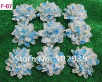 "Free ePacket/CPAP chic chiffon flowers,hair accessories,hand made flowers,3.5-4"",100pcs/lot,38 colors for selection"