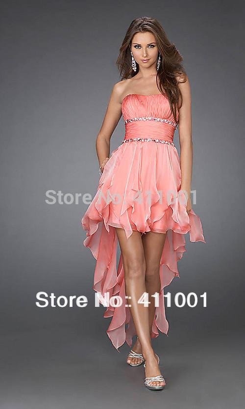 Rosa coral vestidos - Imagui
