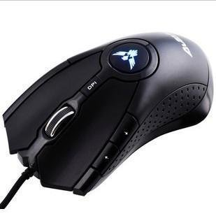2012 unique design of sell like hot cakes computer 6 D cable mouse USB gaming mouse marked four POTS pervious to light the mouse(China (Mainland))