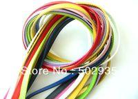 Wholesale 10mm  10 Strands Copy Leather Belt Fit Slide Charm