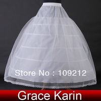 Free Shipping 1pcs/lot GK 5 Layers Wedding Bridal Gown Dress Petticoat Underskirt Crinoline CL2710